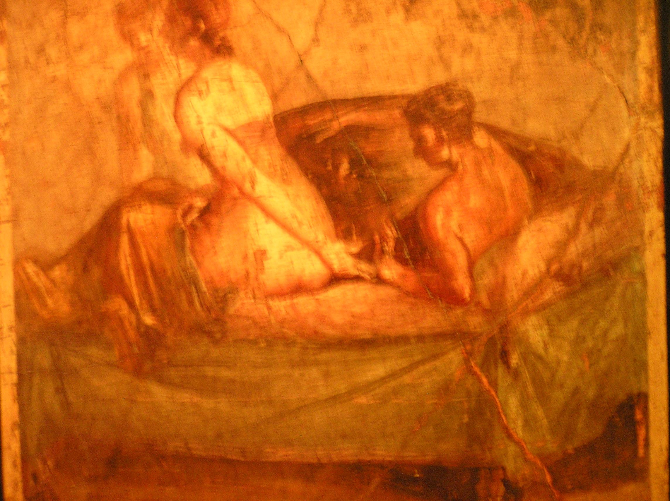 Бордельные фрески древних Помпей с телами XXI века.