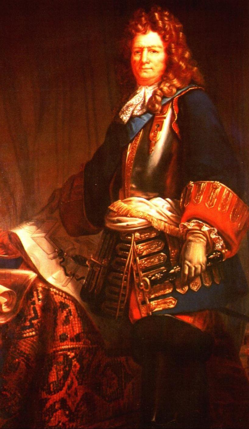 portrait couleur de Vauban